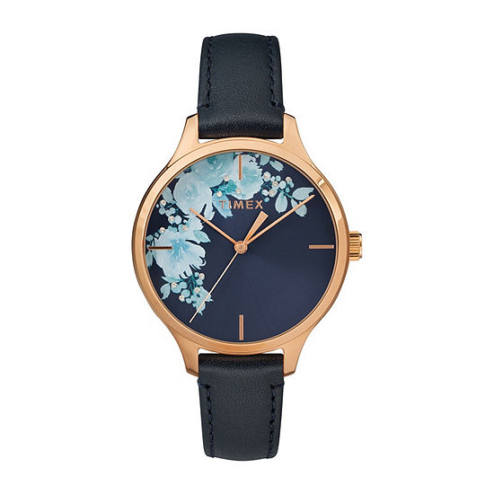 Timex Womens Blue Strap Watch-Tw2r66700jt