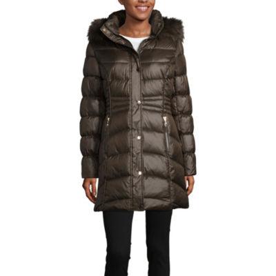 Liz Claiborne Water Resistant Heavyweight Puffer Jacket