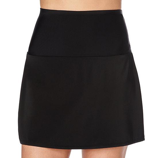 St. John's Bay High Waisted Swim Skirt Swimsuit Bottom