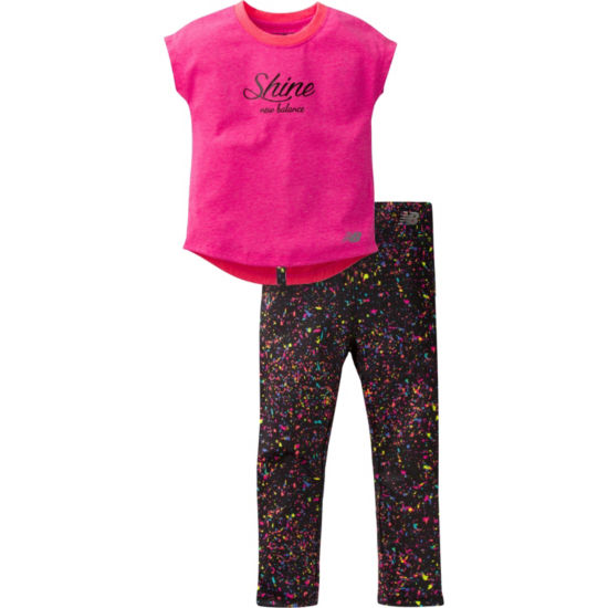 New Balance 2-pc. Pant Set Girls