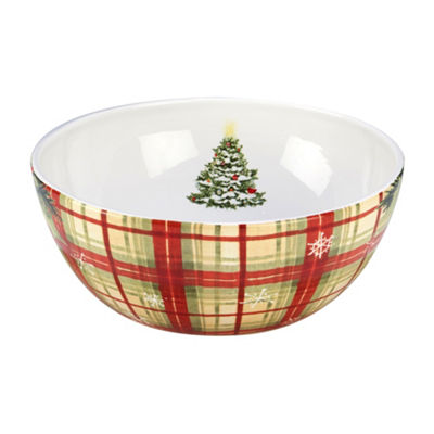 Certified International Holiday Wishes Serving Bowl