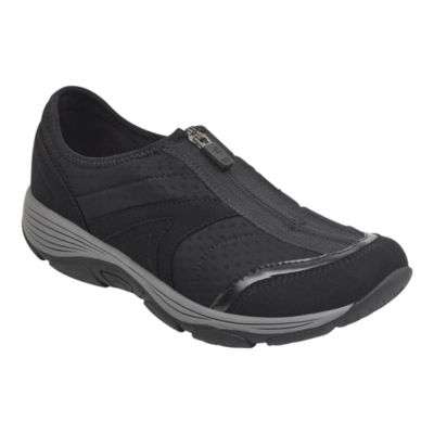 Easy Spirit Womens Slip-On Shoes Zip Round Toe