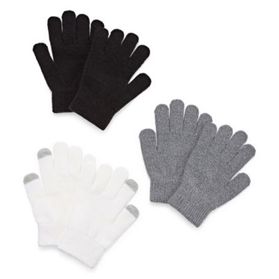 Arizona Girls Cold Weather Gloves-Big Kid