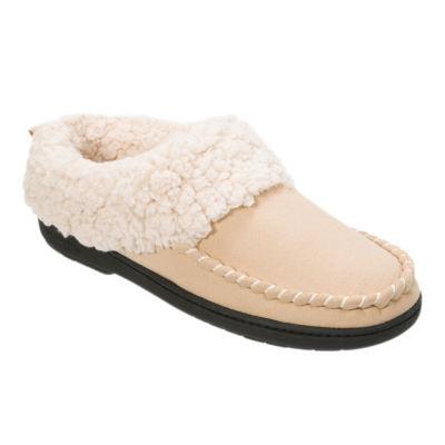 Dearfoams Womens Memory Foam Clog Slippers