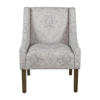 HomePop Modern Swoop Arm Chair