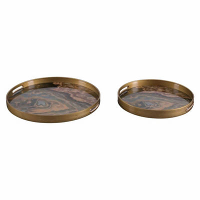 Mundi Set of 2 Trays