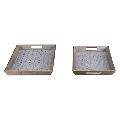 Cundri Set of 2 Trays