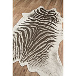 Erin Gates By Momeni Faux Zebra Hide Rug