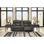 Signature Design By Ashley® Dunwell Power Reclining Loveseat With Console