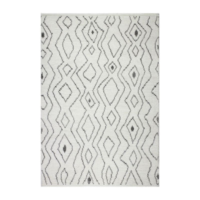 Elke 100% Wool Hand Knotted Area Rug