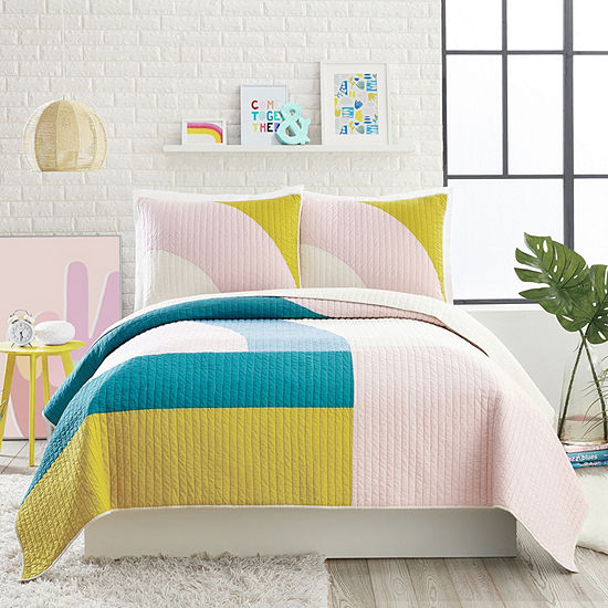 Makers Collective Modshapes 3-pc. Geometric Quilt Set