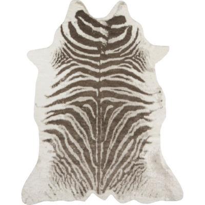 Erin Gates By Momeni Faux Zebra Hide Rug
