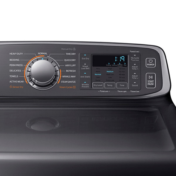 Samsung 7.4-cu ft Electric Dryer with Steam Cycle
