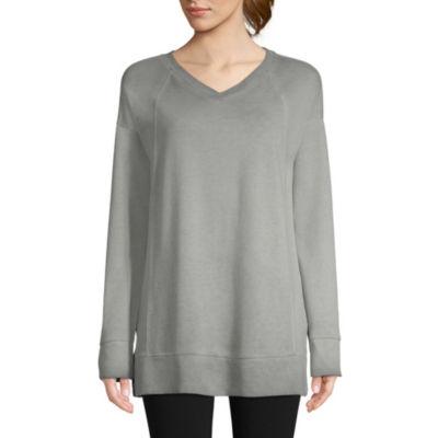 St. John's Bay Active Garment Wash Sweatshirt