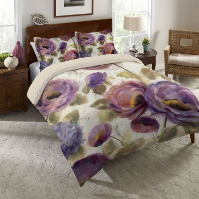 Laural Home Precious Flower Song Comforter
