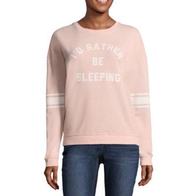 """""""I'd Rather Be Sleeping"""" Sweatshirt - Juniors"""