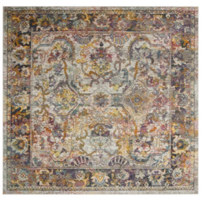 Safavieh Crystal Collection Rowland Oriental Square Area Rug