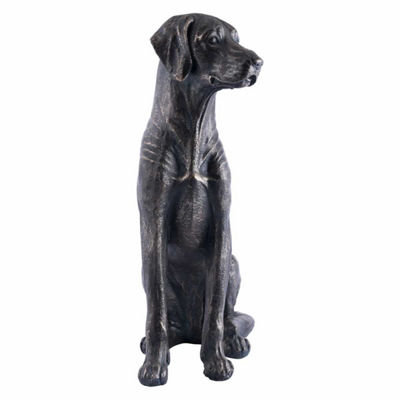 Dog Sitting Figurine