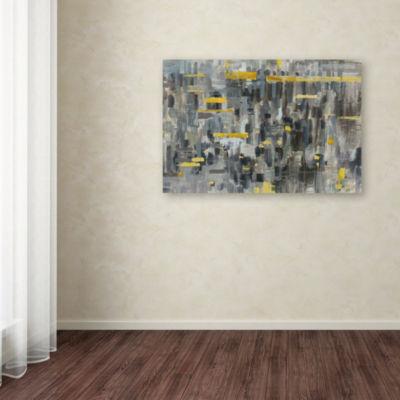 Trademark Fine Art Danhui Nai Reflections Crop Giclee Canvas Art