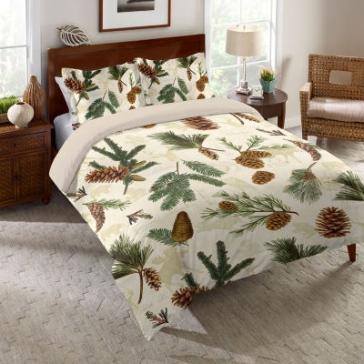 Laural Home Pinecone Comforter