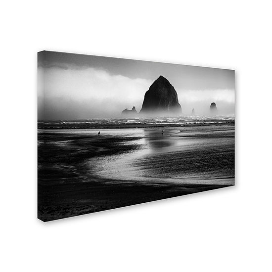 Trademark Fine Art Martin Rak Cannon Beach Giclee Canvas Art