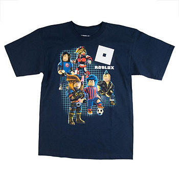 Roblox Graphic T Shirt Boys Color Navy Jcpenney