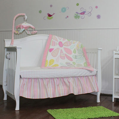 Nurture Crazy Daisy 3 Piece Nursery Bedding Set