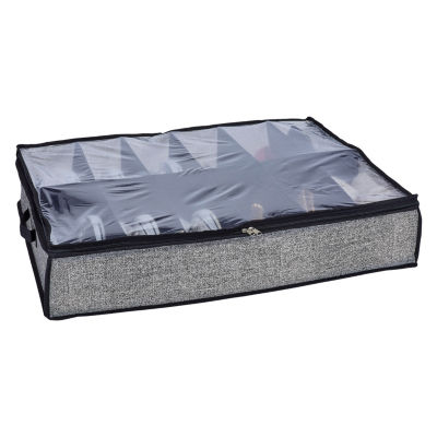 Kennedy International U-T-Bed Shoe Box 12pr Underbed Storage