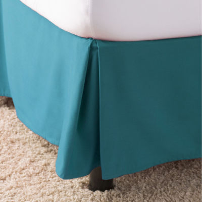 Elegant Comfort Wrinkle & Fade Resistant Bed Skirt / Dust Ruffle - Pleated Tailored 14inch Drop