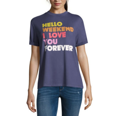 """Hello Weekend"" Tee - Juniors"