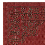 Safavieh Courtyard Collection Trena Oriental Indoor/Outdoor Area Rug