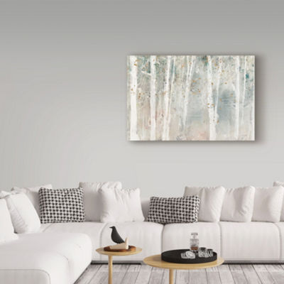 Trademark Fine Art Lisa Audit A Woodland Walk I Giclee Canvas Art