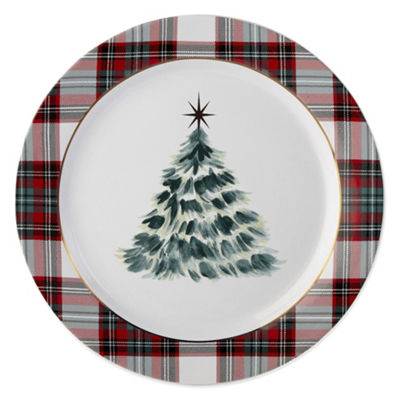 North Pole Trading Co. Yuletide Joy 4-pc. Dinner Plate