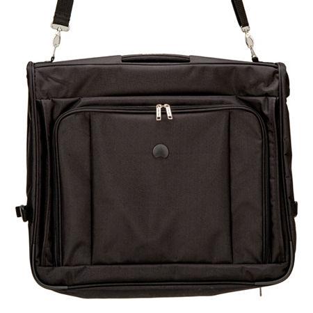Delsey 45 Inch Delux Garmet Bag, One Size , Black
