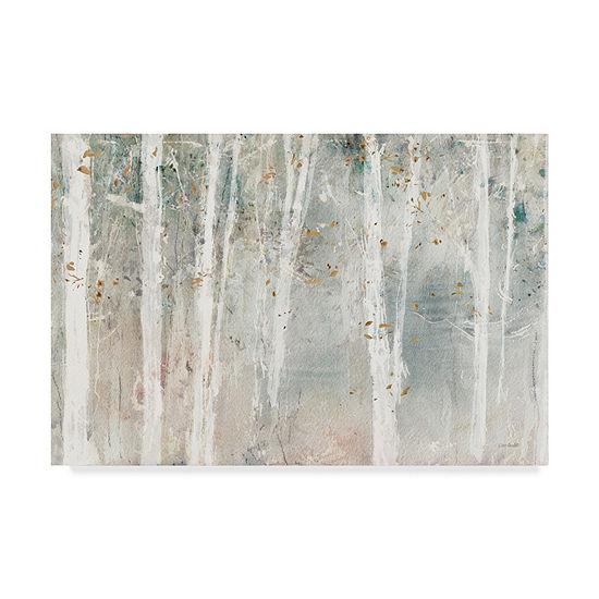 Trademark Fine Art Lisa Audit A Woodland Walk I Giclee Canvas Art