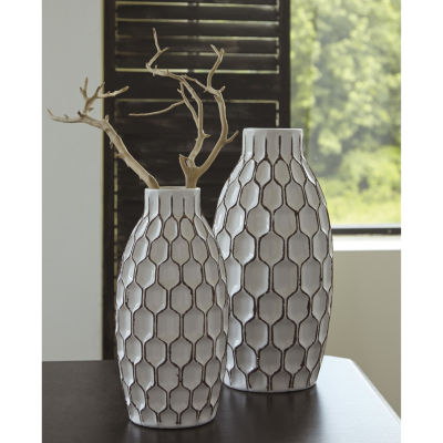 Signature Design By Ashley® Set of 2 Dionna Vases