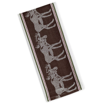 Moose Jacquard Dishtowel Set - Set of 4