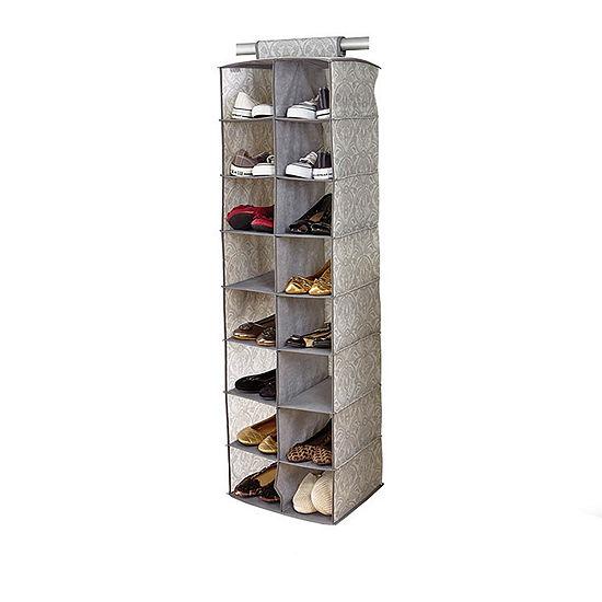 Non-Woven 16 Pocket Shoe Organizer-Almeida