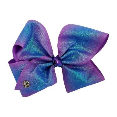 JoJo Siwa Signature Purple Glitter Ombre Bow