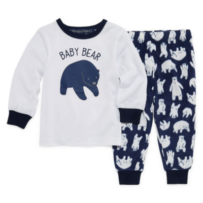 Sleepy Nites Polar Bear 2 Piece Pajama Set -Baby Unisex
