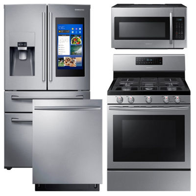 Samsung® 4-pc. Gas Kitchen Package