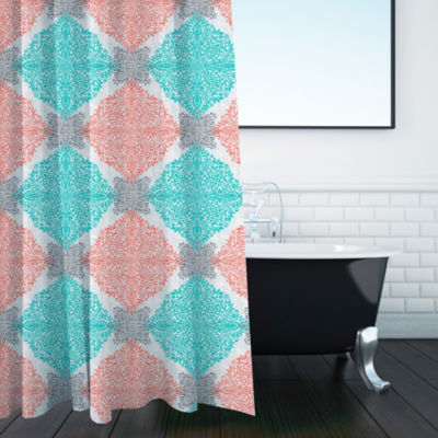 Inspired Surroundings Ava Shower Curtain