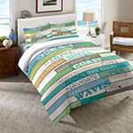 Laural Home Ocean Rules Comforter