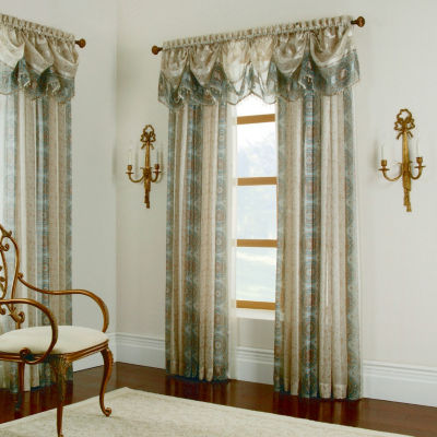 Miller Curtains Charlton Semi-Sheer Rod-Pocket Valance