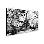 Trademark Fine Art Philippe Hugonnard Eiffel Tower Giclee Canvas Art