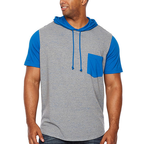 The Foundry Big & Tall Supply Co.-Big and Tall Mens Short Sleeve Hoodie