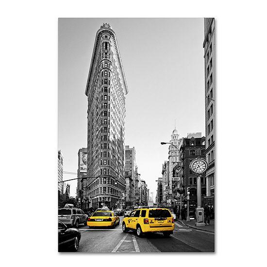 Trademark Fine Art Philippe Hugonnard Flatiron Building NYC Giclee Canvas Art