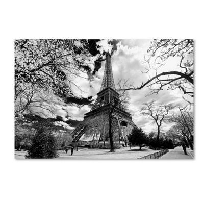 Trademark Fine Art Philippe Hugonnard Eiffel TowerGiclee Canvas Art