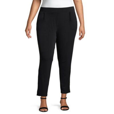 Alyx Knit Pull-On Pants with Pockets - Plus