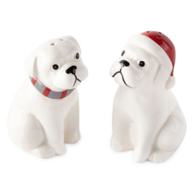 North Pole Trading Co. Salt + Pepper Shakers